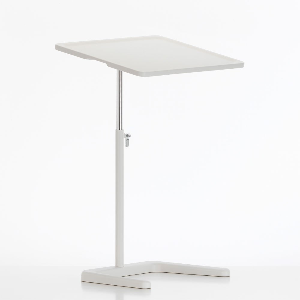 Nes Table Laptoptisch Soft Light / Weiß - Vitra 86013015 - Jasper Morrison