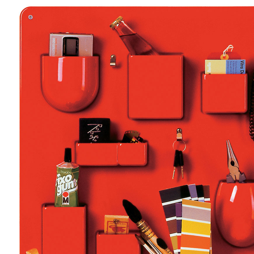 vitra utensilo i rot wandaufbewahrung 20129003 dorothee. Black Bedroom Furniture Sets. Home Design Ideas