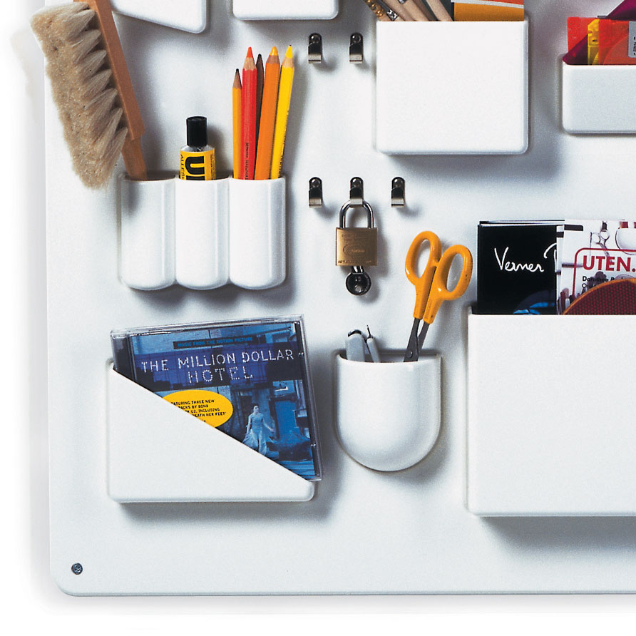 vitra utensilo i wei wandaufbewahrung h he 87 cm 20129001. Black Bedroom Furniture Sets. Home Design Ideas