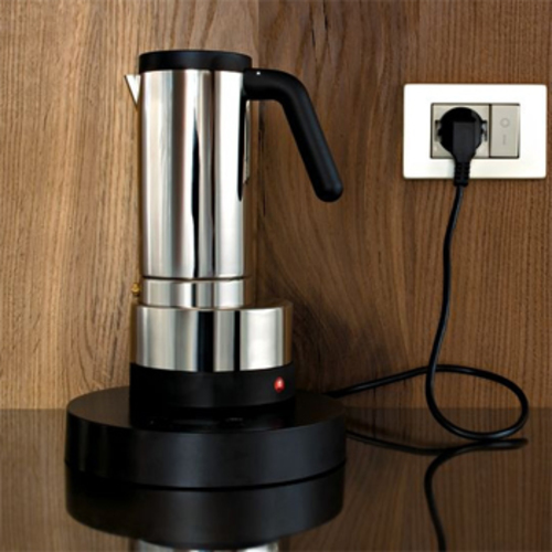 Alessi Espressokocher alessi coffee it wa08 6 espressokocher elektrischer officina wiel arets