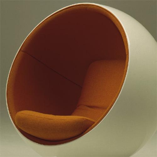 ball chair sessel adelta eero aarnio 8330 kugelsessel ballchair. Black Bedroom Furniture Sets. Home Design Ideas