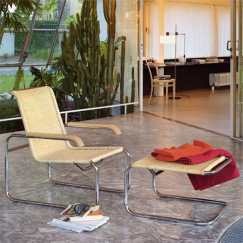 thonet s 35 r sessel korbgeflecht stahlrohrsessel marcel. Black Bedroom Furniture Sets. Home Design Ideas
