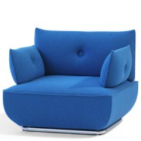 Dunder Easy Chair S601 - Bla Station - Stefan Borselius Designsessel