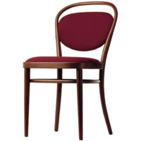 Bugholz Klassiker 215 P mit Stoffpolsterung - Thonet - Michael Thonet Holzstuhl
