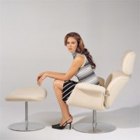 Tulip Chair F 545 Sessel & Hocker P 545 - Artifort - Pierre Paulin Designersessel