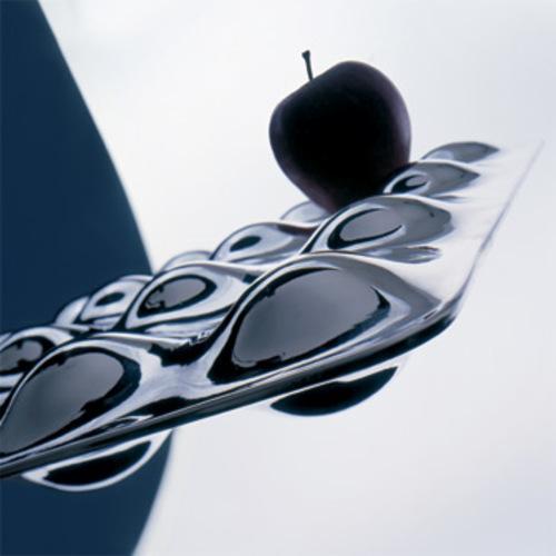 obstkorb obstschale tischschale edelstahl tablett holz alessi besteck. Black Bedroom Furniture Sets. Home Design Ideas
