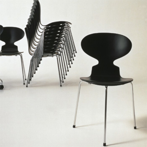 fritz hansen ameise 3100 3101 arne jacobsen stahlrohrstuhl the ant. Black Bedroom Furniture Sets. Home Design Ideas