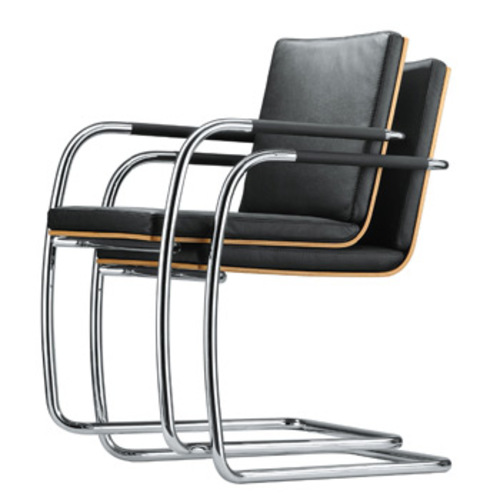thonet s 60 b rostuhl freischwinger stahlrohrstuhl. Black Bedroom Furniture Sets. Home Design Ideas