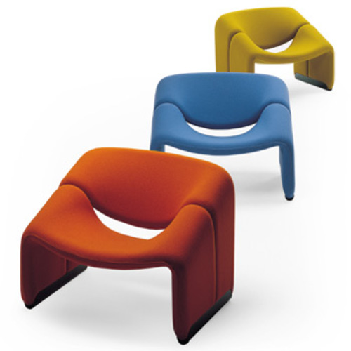 Groovy Chair F 598 Sessel - Artifort - Pierre Paulin Polstersessel