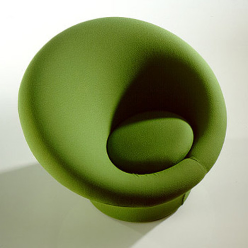 Mushroom Chair F 560 Sessel & Hocker P 560 - Artifort - Pierre Paulin Polstersessel