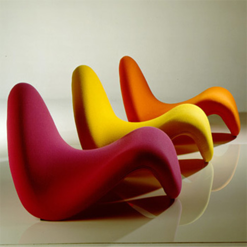 Tongue Chair F 577 Sessel - Artifort - Pierre Paulin Polstersessel