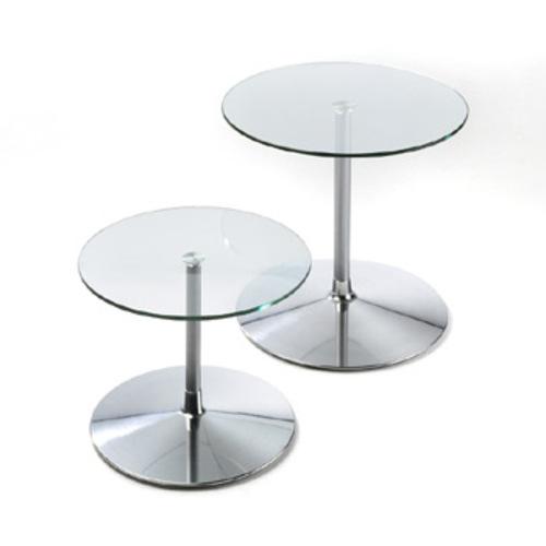 Artifort Circle Glastisch Pierre Paulin Couchtisch Beistelltisch