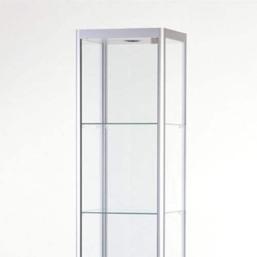 sdb tango r 40 glasvitrine wandvitrine b ro schloss beleuchtung sammel. Black Bedroom Furniture Sets. Home Design Ideas