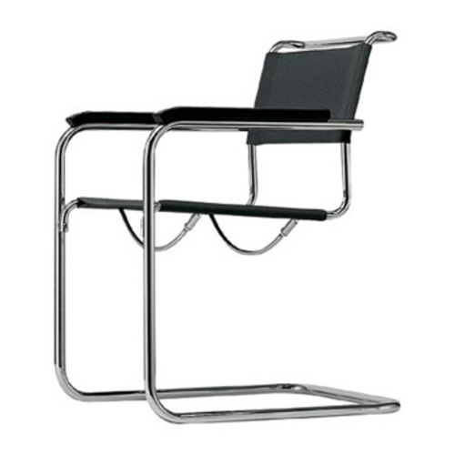 thonet s 32 freischwinger marcel breuer stahlrohrstuhl rohrgeflecht. Black Bedroom Furniture Sets. Home Design Ideas