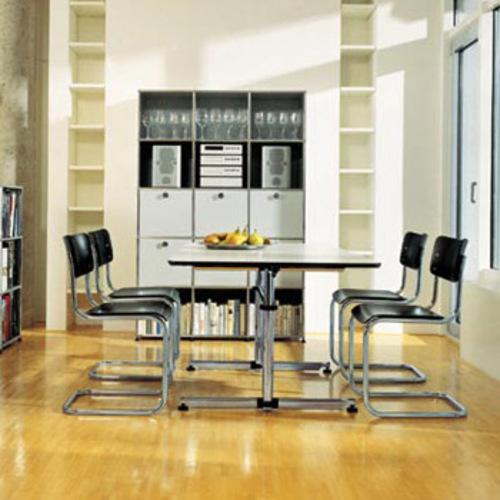 s 43 thonet freischwinger bauhausstuhl stahlrohrstuhl mart stam. Black Bedroom Furniture Sets. Home Design Ideas