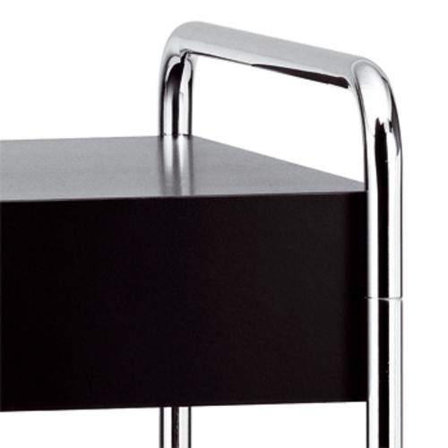 thonet b 117 beistelltisch schublade stahlrohrtisch. Black Bedroom Furniture Sets. Home Design Ideas