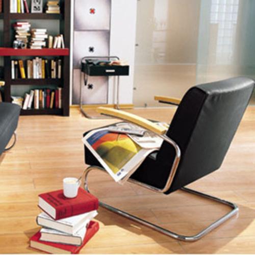 thonet b 117 beistelltisch schublade stahlrohrtisch konsoltisch design. Black Bedroom Furniture Sets. Home Design Ideas